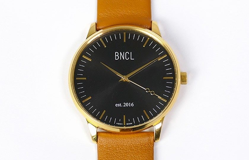 Montres BNCL Or - Noir - Camel
