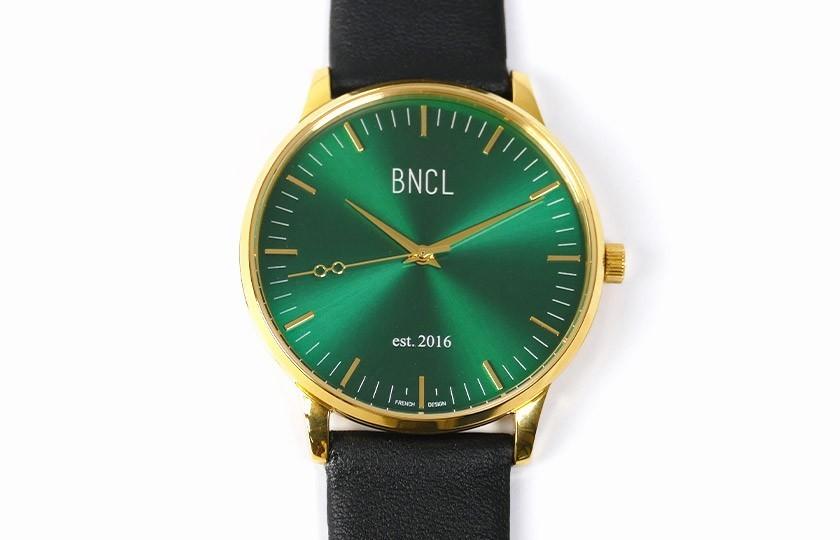 Montres BNCL Or - Vert - Noir