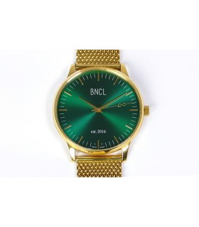 Montres BNCL Or - Vert - Or