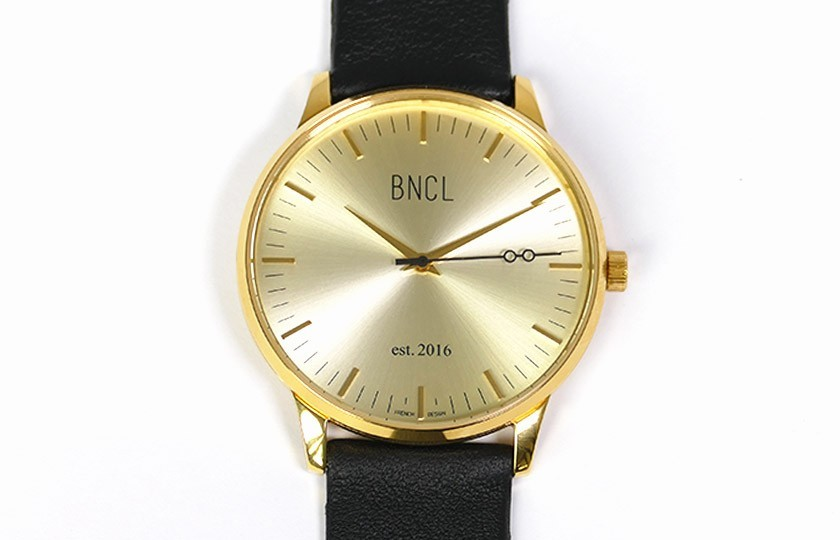 Montres BNCL Or - Or - Noir