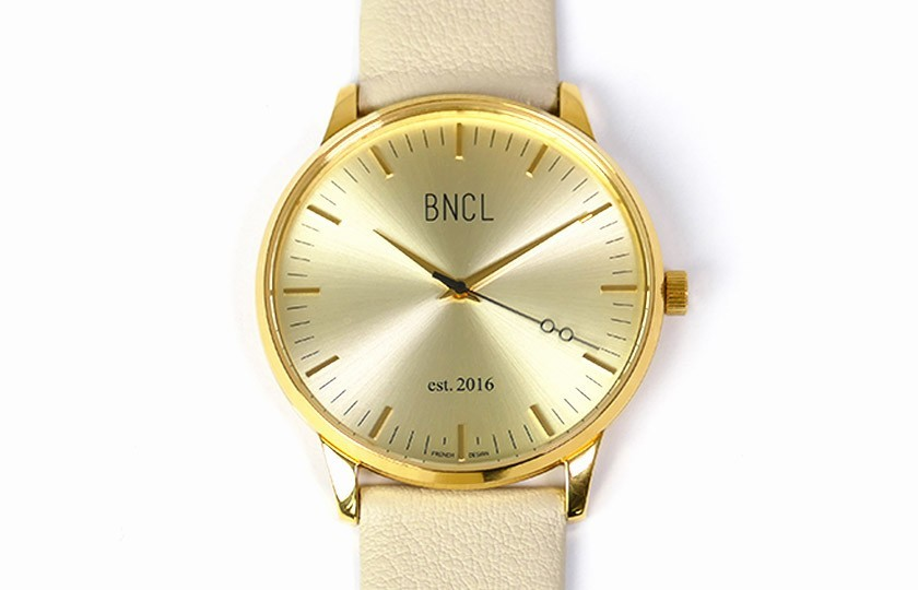 Montres BNCL Or - Or - Gris Perle