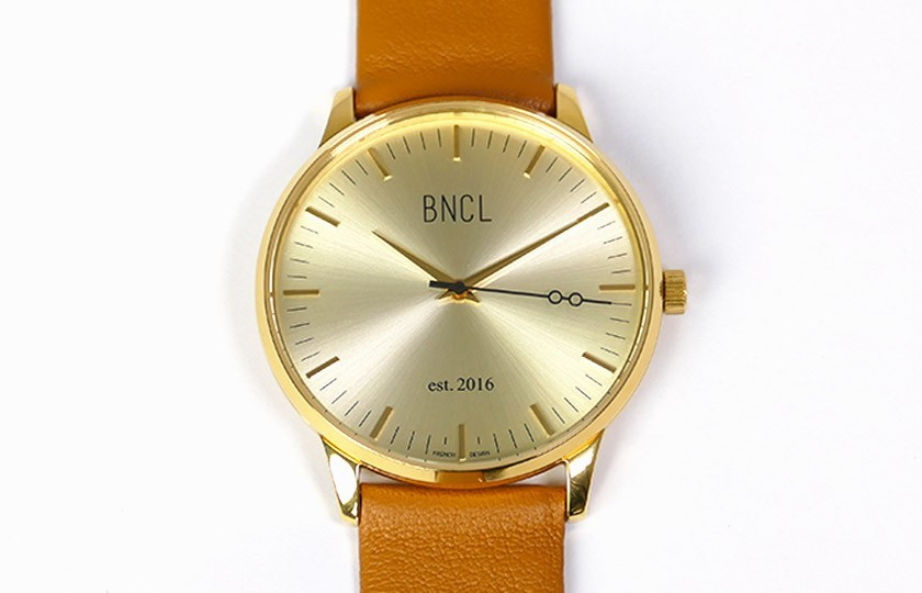 Montres BNCL Or - Or - Camel