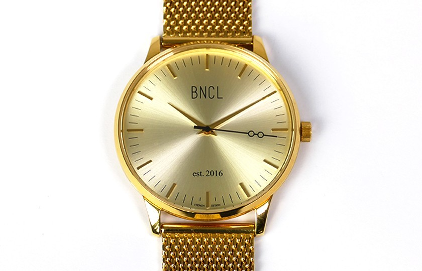 Montres BNCL Or - Or - Or