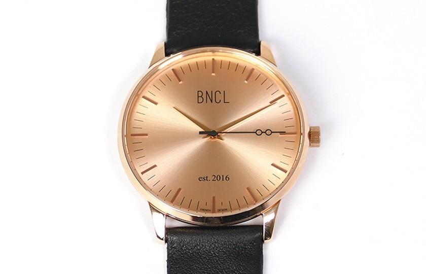 Montres BNCL Or Rose - Or Rose - Noir