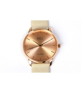 Montres BNCL Or Rose - Or Rose - Gris Perle