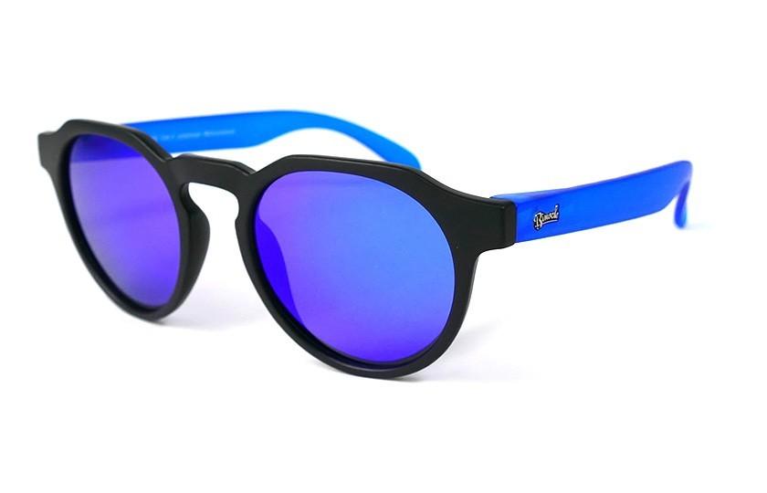 Black - Blue glasses - Blue