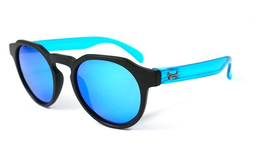 Black - Ice Blue glasses - Light Blue