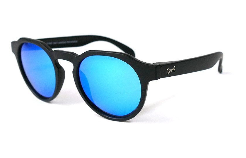 Black - Ice Blue glasses - Black