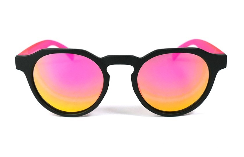 Black - Pink glasses - Pink