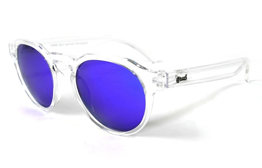 Transparent - Blue glasses - Transparent