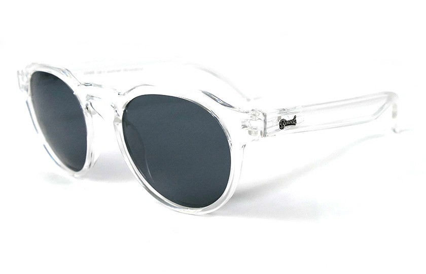 Transparent - Grey glasses - Transparent