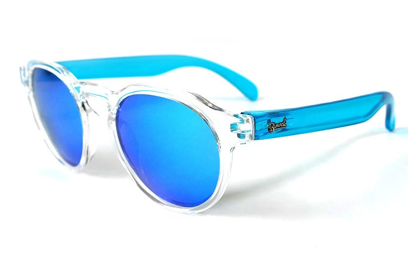 Transparent - Ice Blue glasses - Light Blue