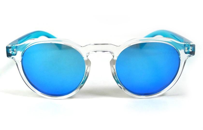 Transparent - Ice Blue glasses - Light Blue