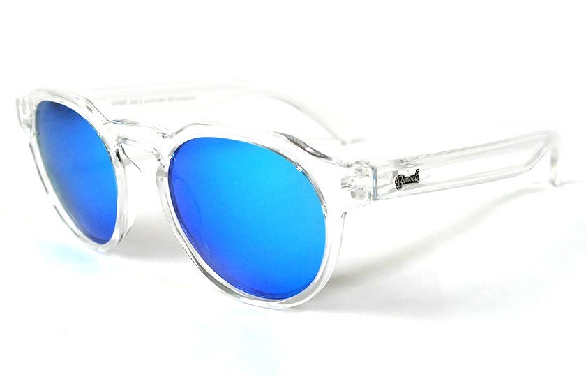 Transparent - Ice Blue glasses - Transparent