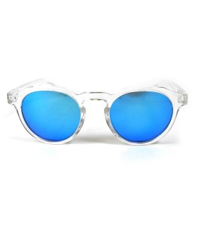 Transparent - Ice Blue glasses - Transparent