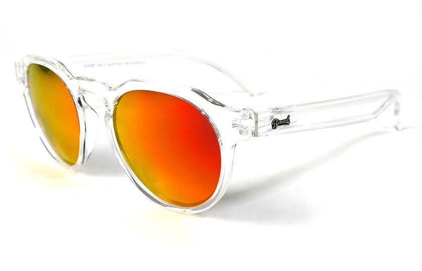 Transparent - Red Fire glasses - Transparent