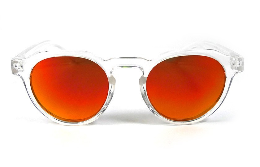 Transparent - Red Fire glasses - Transparent
