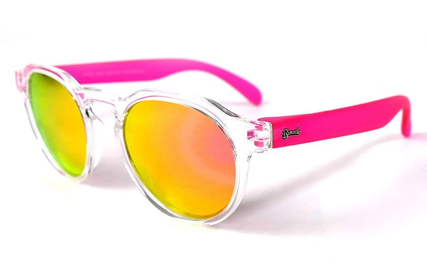 Transparent - Pink glasses - Pink