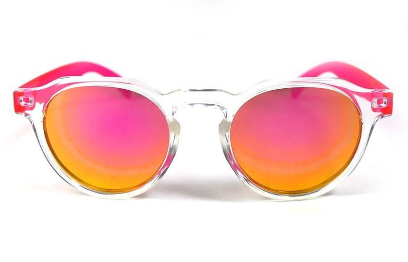 Transparent - Pink glasses - Pink