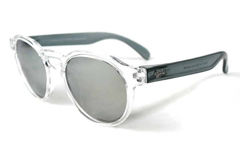 Transparent - Silver glasses - Grey