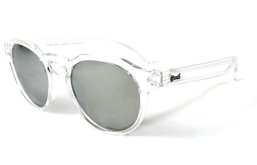 Transparent - Silver glasses - Transparent