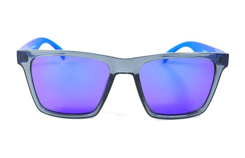 Grey - Glasses Blue - Blue