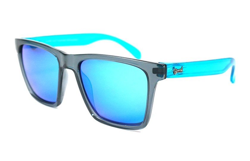 Grey - Glasses Ice Blue - Light Blue