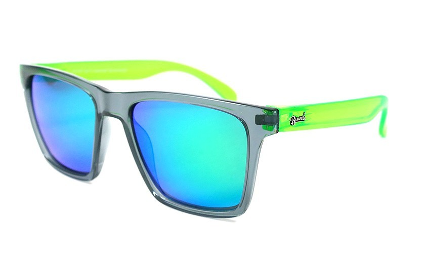 Grey - Glasses Green - Green
