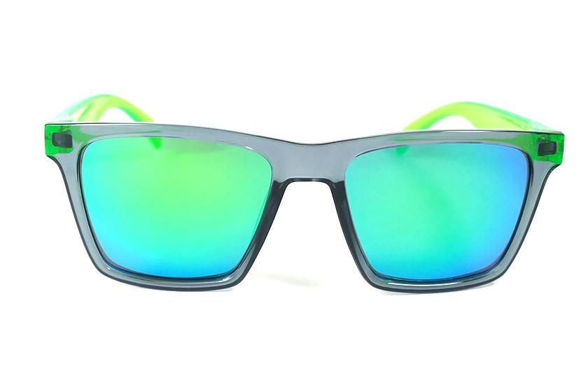 Lunettes de soleil Miami Gris - Verres Vert - Vert 29,00€