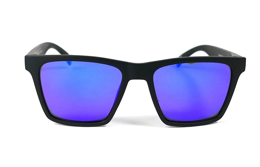 Black - Glasses Blue - Black
