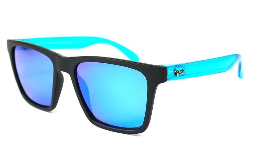 Black - Glasses Ice Blue - Light Blue