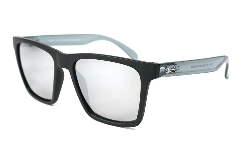 Black - Glasses Silver - Grey