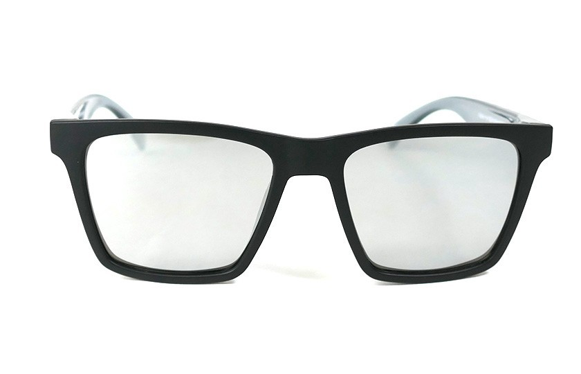 Black - Glasses Silver - Grey