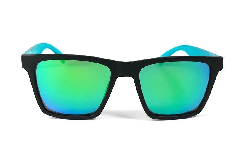 Black - Glasses Green - Duck Blue