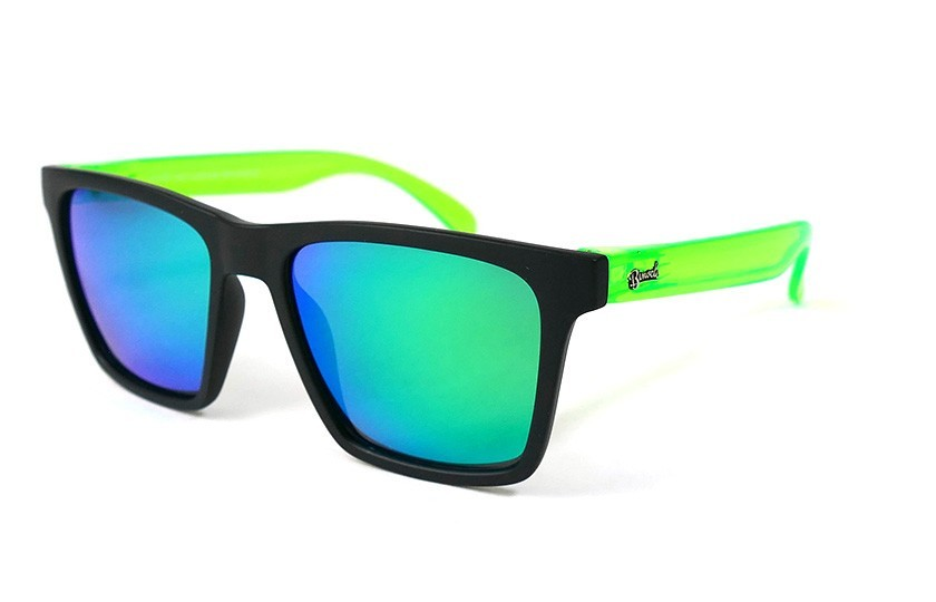 Black - Glasses Green - Green