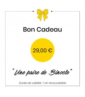 Gift card - 29€