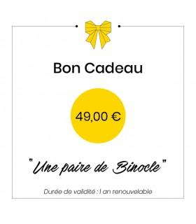 Bon cadeau - 49€