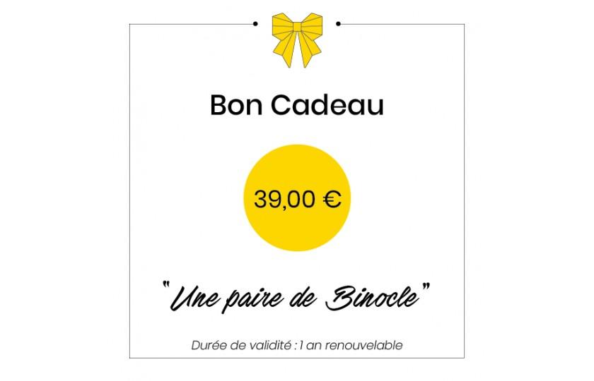 Bon cadeau - 39€
