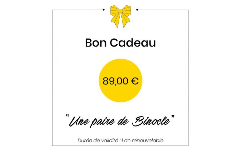 Bon cadeau - 89€