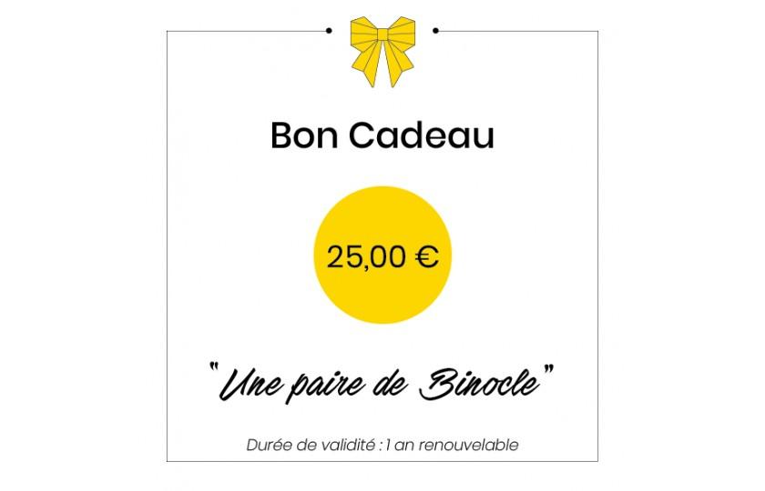 Bon cadeau - 25€
