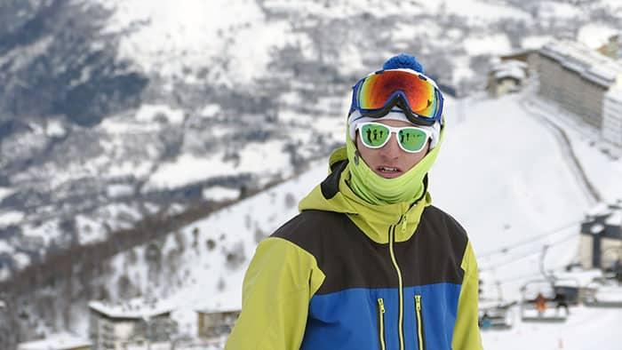 lunettes de soleil pour le ski polycarbonate
