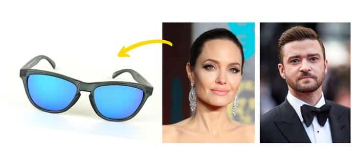 lunettes de soleil colorées